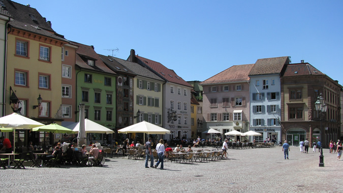 Bad Säckingen, Münsterplatz