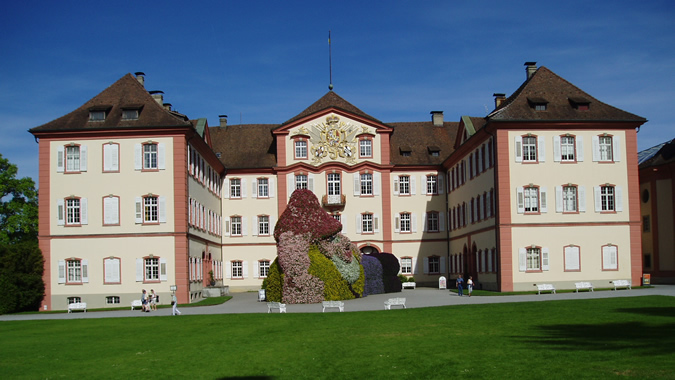 Mainau Island, Baroque Mainau Castle